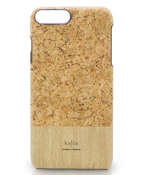Eine Schutzhülle aus echtem Kork Holz für das iPhone 8 Plus, das iPhone 8, das iPhone 7 und das iPhone 7 Plus.