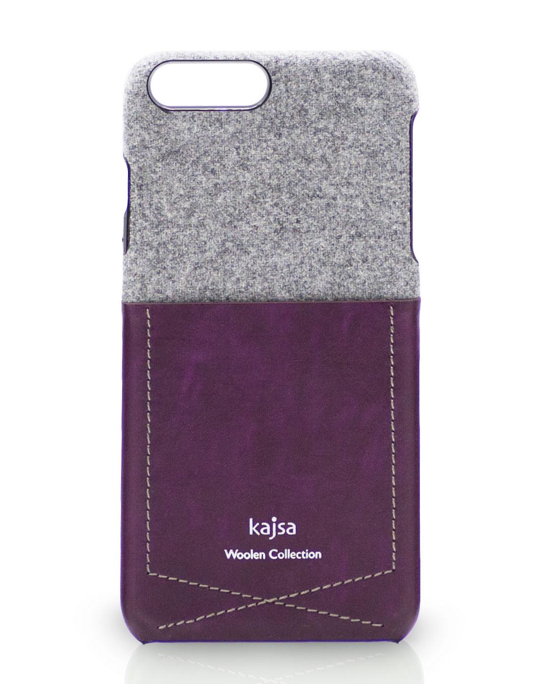 iPhone 8 Hülle aus Wolle und Leder